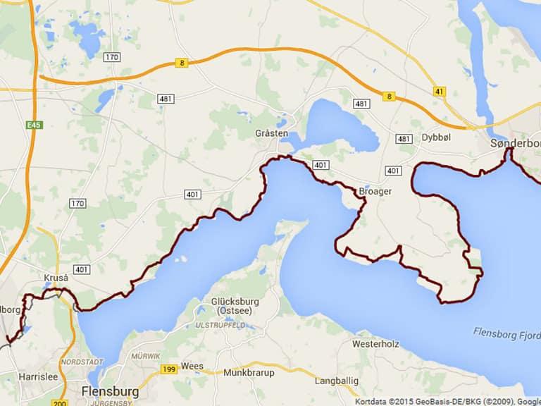 Gendarmstien med Løberejser fra Padborg til Hørup Hav - vi bider turen op i 3 dage. Med to gode overnatninger undervejs. Vi bor godt, vi sover godt og vi spiser godt.