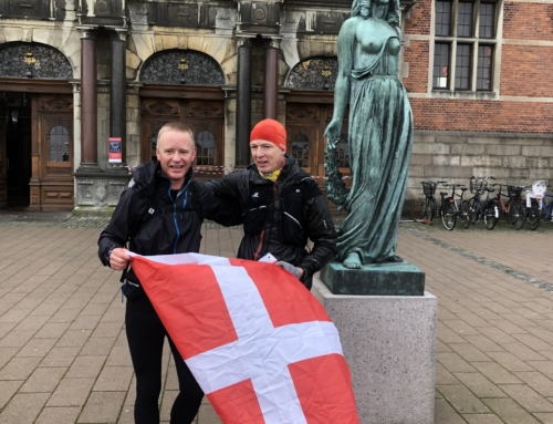 2 trailløbere løber rundt om Sjælland – Trailløb